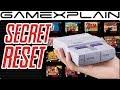 Super NES Classic Has a Secret Home Menu Shortcut & Soft Reset Trick