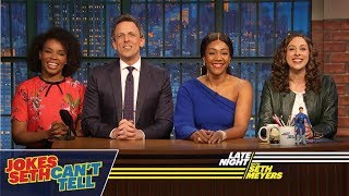Jokes Seth Can't Tell with Tiffany Haddish