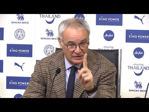 Claudio Ranieri Full Pre-Match Press Conference - Leicester v Manchester United