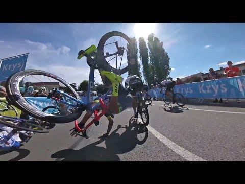 Top 10 Cycling Crashes caught on GoPro