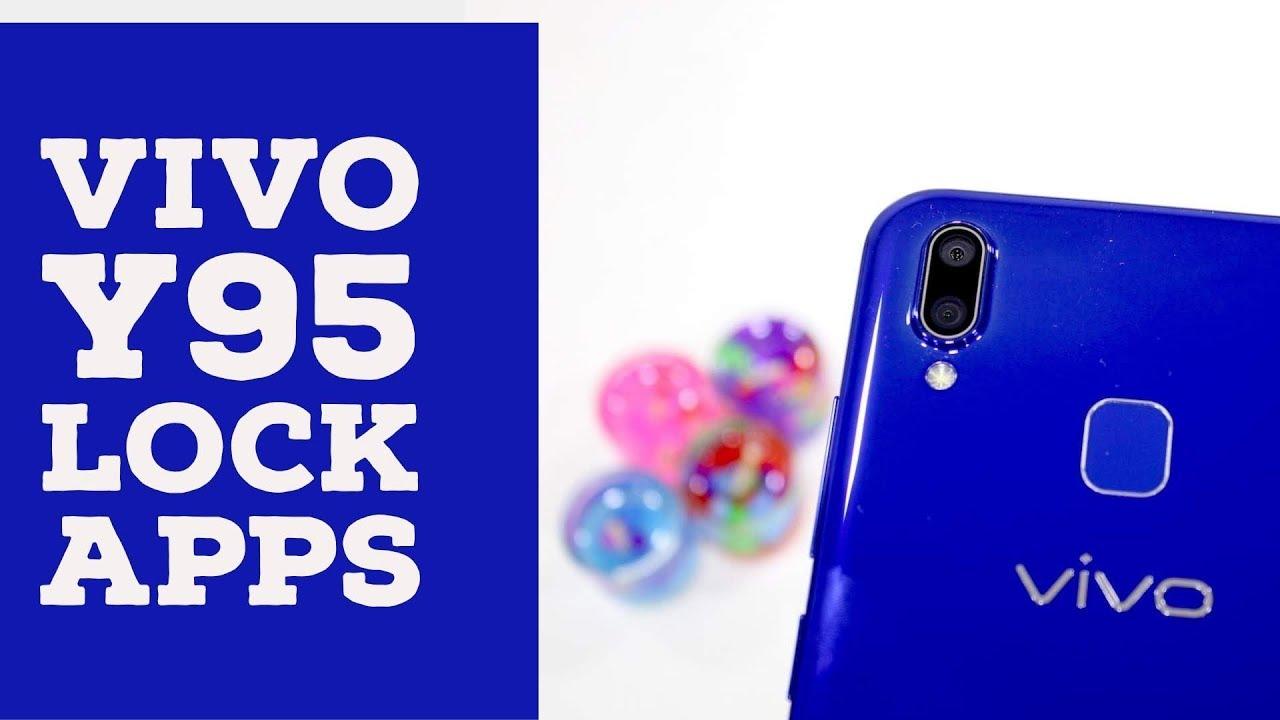 Vivo Y95: Lock Apps Using Fingerprint Scanner/Face Unlock [Hindi]