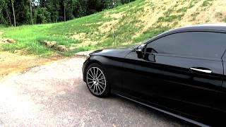 2018 Mercedes C Coupe Burmester Surround Sound System