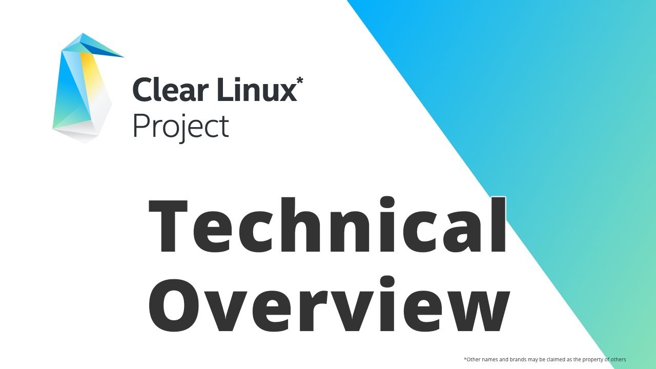 Clear Linux* project — Documentation for Clear Linux* project