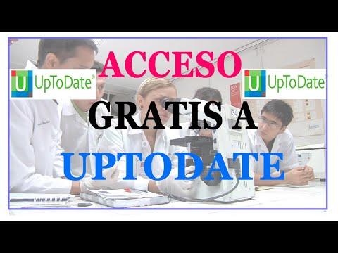Acceso Libre A UpToDate - No Funcionando/ Not Working