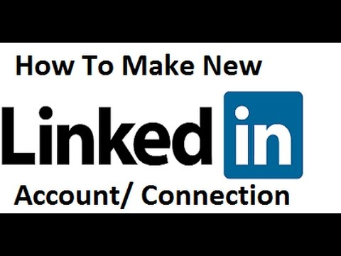Linkedin Account How to Create New Connection - Urdu, Hindi Tutorial 2017