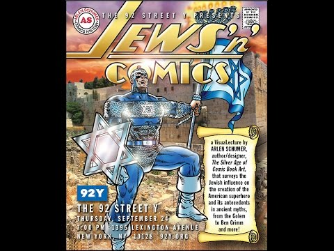 JEWS & COMICS lecture by Arlen Schumer @ 92 St.Y-NYC