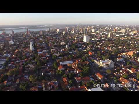 Droneando por Asunción Paraguay - Julio 2016