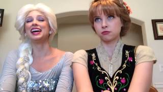 Frozen Fever Elsa and Anna Sing Making Today a Perfect Day