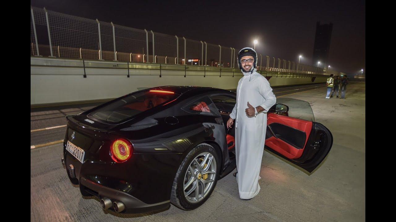 Ferrari 488 And F12 In Dubai Track فيراري ٤٨٨ و إف ١٢ في حلبة دبي