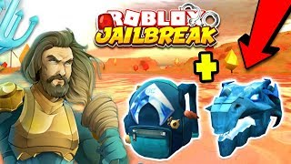 🔴 Roblox Jailbreak & AQUAMAN EVENT! FREE Aquaman Backpack & Water Dragon Head | Jailbreak LIVE