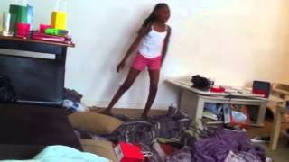 10 Year Old Dancing To Nasty Freestyle