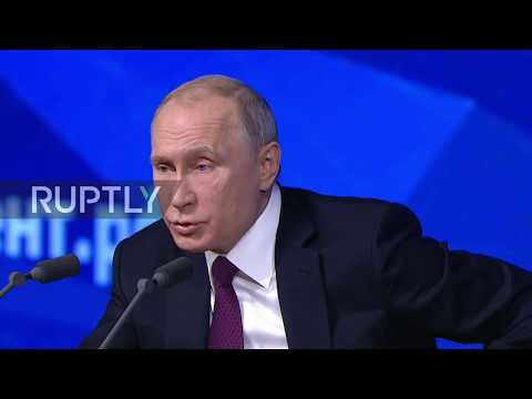 Russia: 'We need to go to different economic league' - Putin on Russian economy