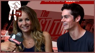 Dylan O'Brien (Teen Wolf) and Britt Robertson Talk First Times - Awesomeness Hollywood
