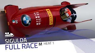 Sigulda | BMW IBSF World Cup 2020/2021 - 2-Man Bobsleigh Race 2 (Heat 1) | IBSF Official