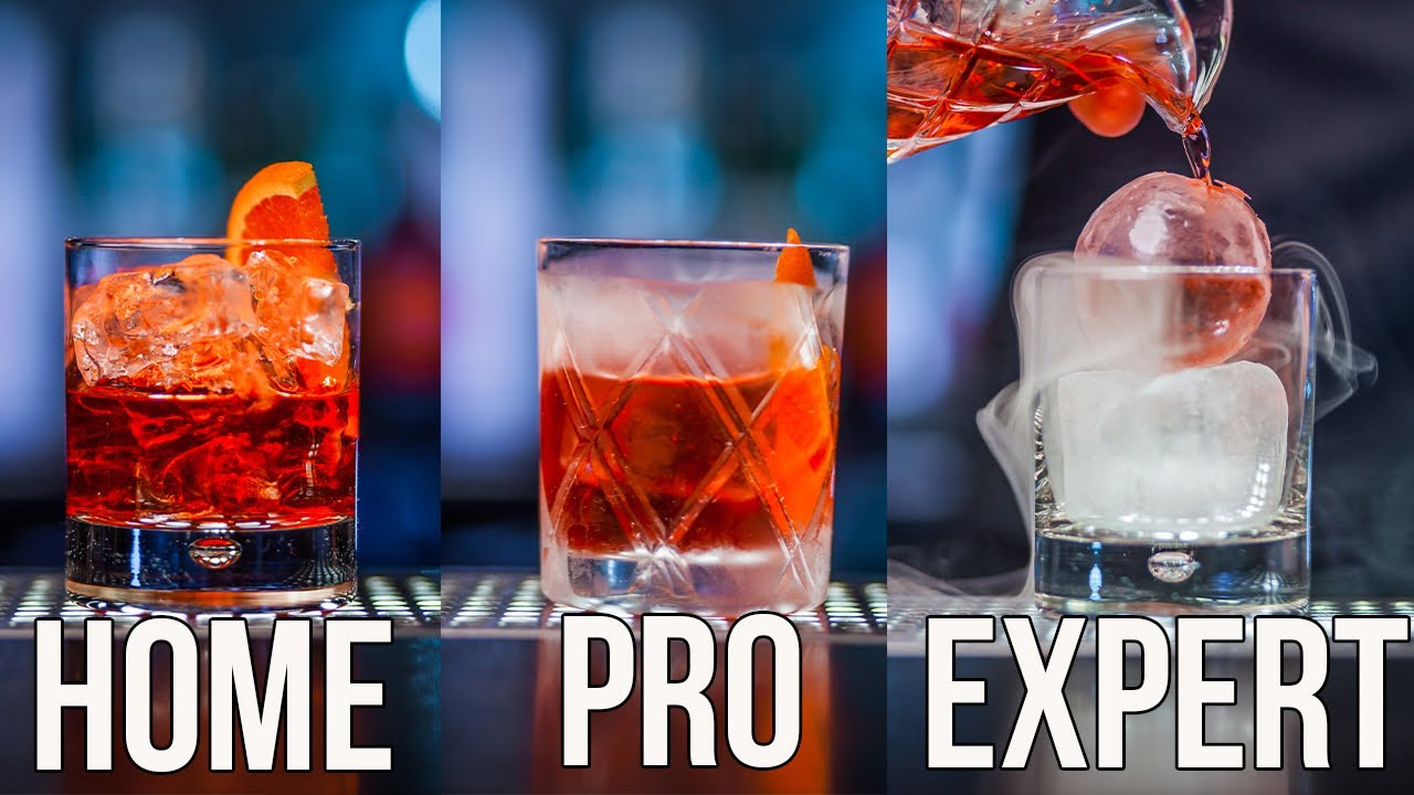 How To Make a Negroni Cocktail Home | Pro | Expert
