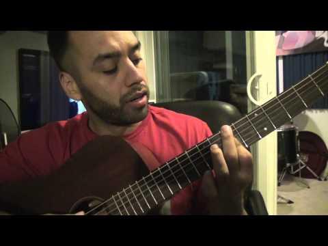 Wale Tiara Thomas - Bad - Guitar Lesson Tutorial Step By Step Instruction (Esteban Dias)