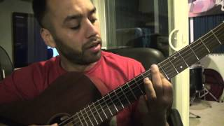 Wale Tiara Thomas - Bad - Guitar Lesson Tutorial Step By Step Instruction (Esteban Dias)