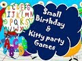 2018 || incredible English alphabet and word games for kitty and couple kitty party