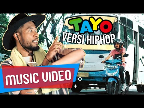 TAYO VERSI HIP HOP [ Music Video ] ECKO SHOW - Realita Bus Indonesia