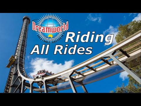 Riding All Rides At Dreamworld On The Gold Coast. /New Ride/ (#Vlog 25)