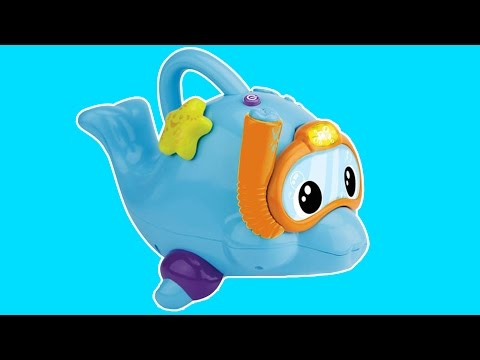 Swim & Splash Dolphin Demo Video | VTech Toys UK