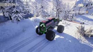 MonsterJam CRUSH IT gameplay part 7 Hill climb - polar time attack