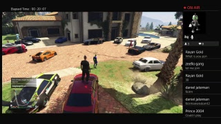Gta5 doing car meet   livestream like and subscribe