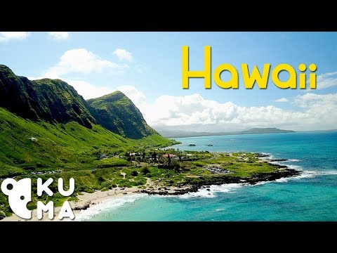 Tropical Paradise Travel Video  – Hawaii Drone Footage (4K)