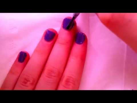 Pastel ombré nail varnish tutorial