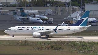 Westjet Tower Turnaround | Boeing 737-800 | C-FUSM