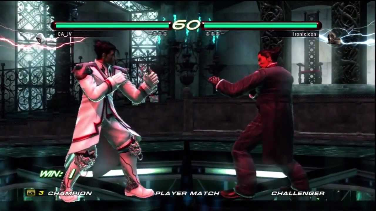 Tekken 6 Kazuya Mishima Vs Jin Kazama Matches 2 7 3 11 Youtube