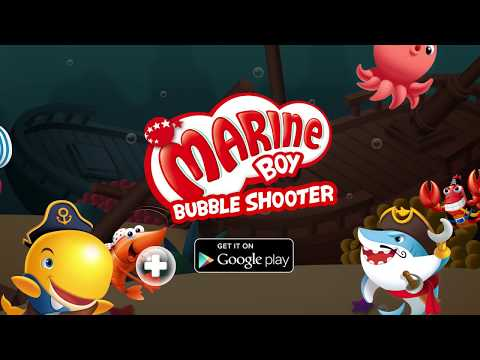 Marine Boy: Bubble Shooter