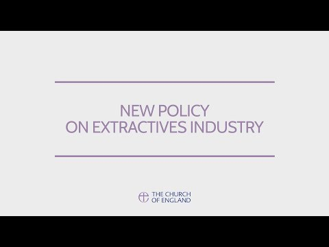 New policy on Extractives Industry