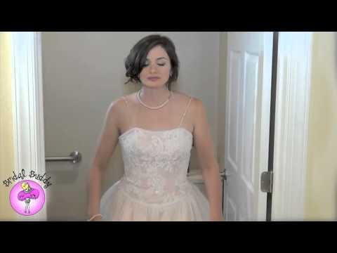 Свадебное платье в котором можно ходить в туалет