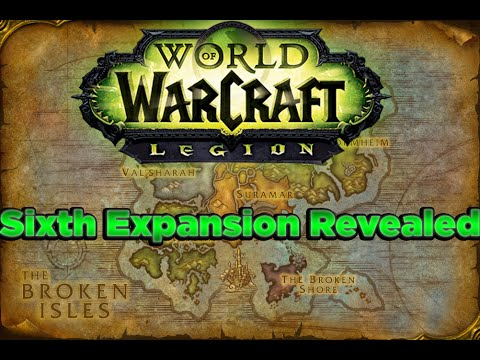 World of Warcraft: Legion! Sixth Expansion Revealed!!! Demon Hunters, Illidan, And More!