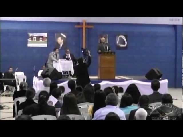 11.05.2013 - Encontro Regional de Pastores em Mogi Mirim/SP - Pr. Vicente Furtado