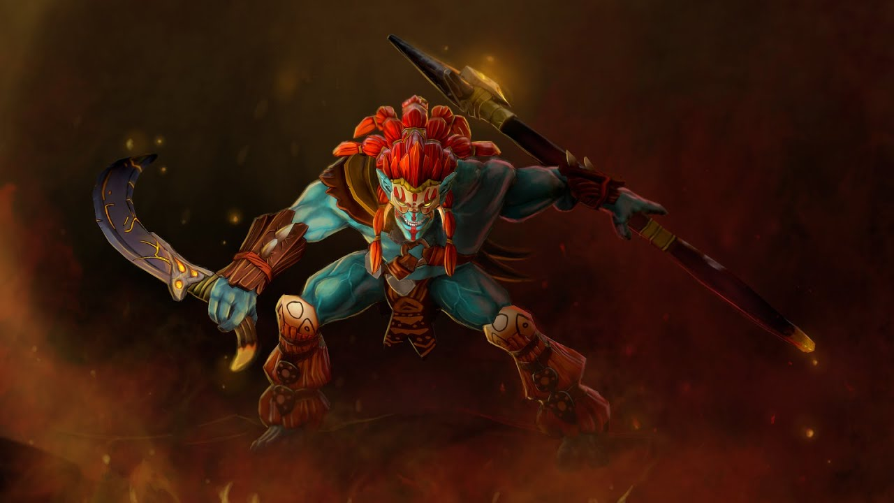 the charred berserker set for huskar dota 2 workshop submission