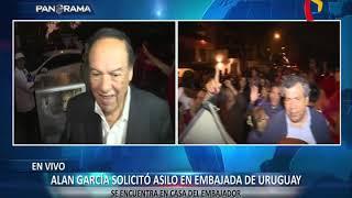 Luis Alva Castro es agredido al salir de residencia de embajador uruguayo