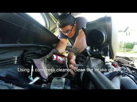 lets clean the Subaru's throttle body