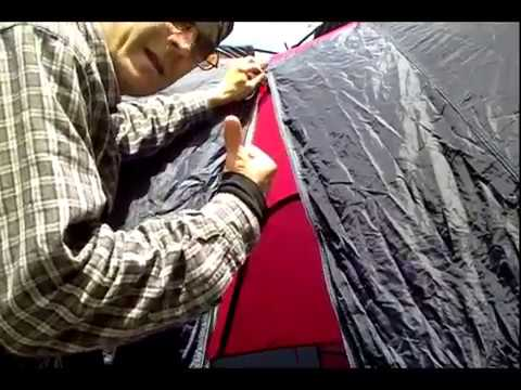 Fix Stuck Frozen Corroded Tent Zipper