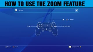 Video How to use the new zoom feature on PS4 download MP3, 3GP, MP4, WEBM, AVI, FLV Juli 2017
