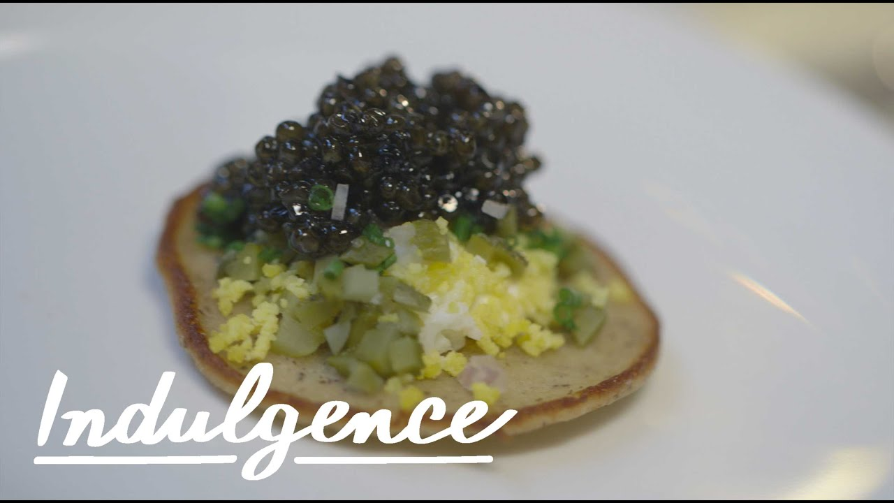 How to serve caviar and champagne like a baller youtube for How to prepare caviar