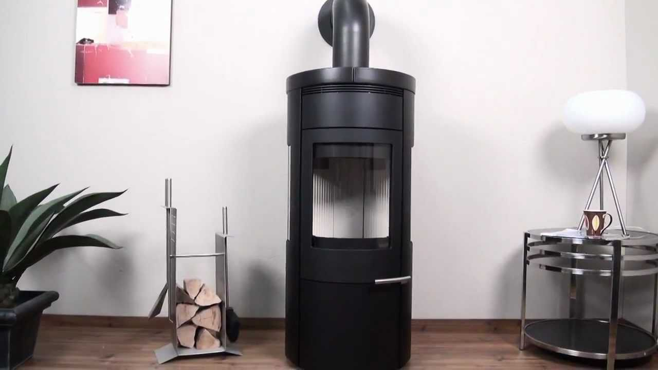 kaminofen hark 95 gt ecoplus kamin mit feinstaubfilter youtube. Black Bedroom Furniture Sets. Home Design Ideas