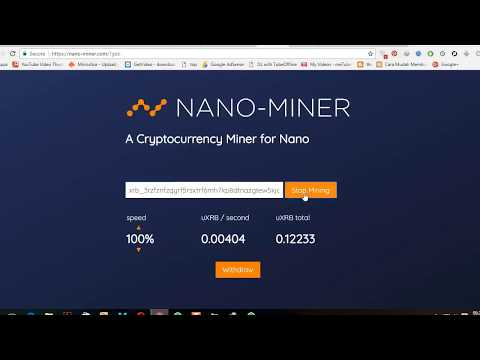 Mining Monero Nano  2018(BETTER THAN CLOUD MINING)🔥🔥🔥✔️