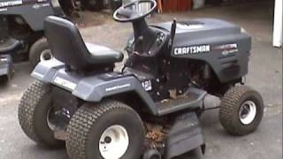 Replacing a 6-speed transaxle with a Hydrostatic in a Craftsman tractor