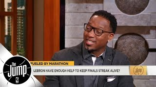 Tracy McGrady: Cavs-Pacers is LeBron James' toughest challenge to win first round | The Jump | ESPN