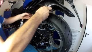 Carbon Kotflügel hinten BMW R1200R LC (2015) & R1200RS
