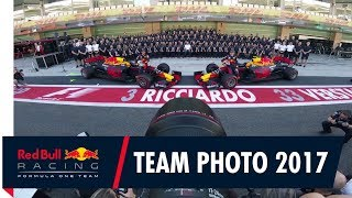Behind The Lens - The Red Bull Racing Team Photo