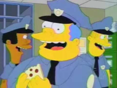 Marge simpson joins the police force youtube - Police simpsons ...