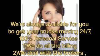 Dispatching Service truck